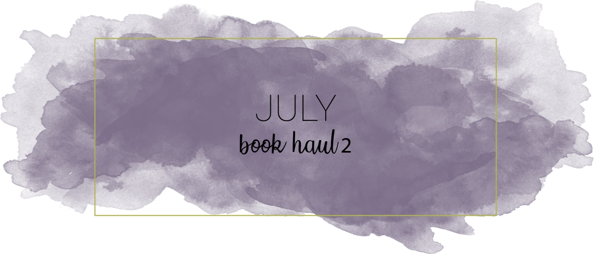 July Book Haul #2
